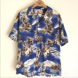 Hawaiian Original Mens Hawaiian Button Down Shirt